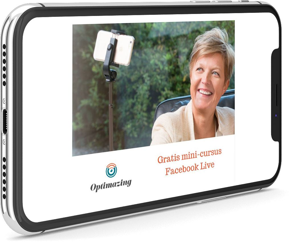 Facebook Live gratis mini-cursus door Cathy Tavernier van Optimazing