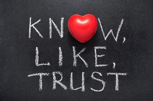 Know-Like-Trust Optimazing Onlinemarketing