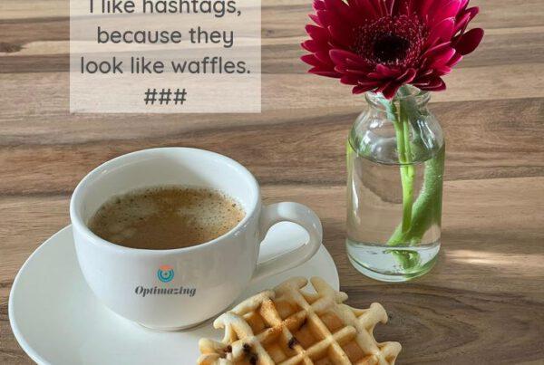 Hashtaghs vergroten het bereik van jouw posts op social media